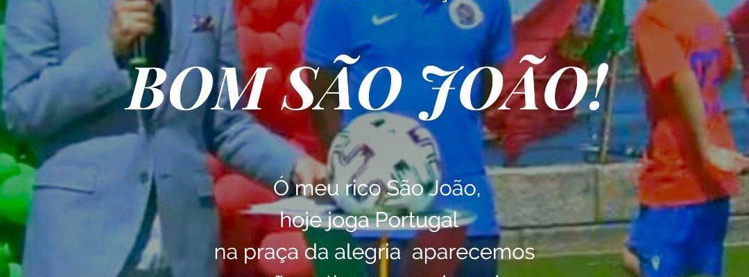 Escola de Futebol presente na RTP1 – Praça da Alegria